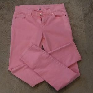 NY& C Skinny Jeans - Size 2 Peachy/Salmon color